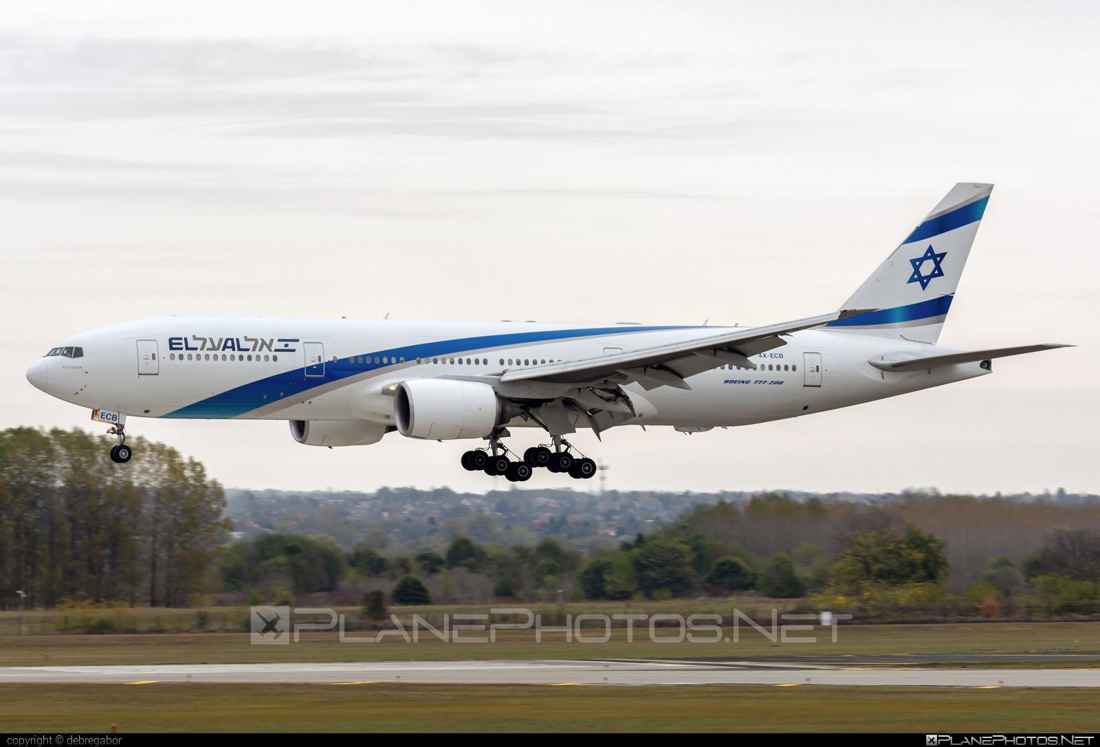 Boeing 777-200ER - 4X-ECB operated by El Al Israel Airlines #b777 #b777er #boeing #boeing777 #elal #elalisraelairlines #israelairlines #tripleseven