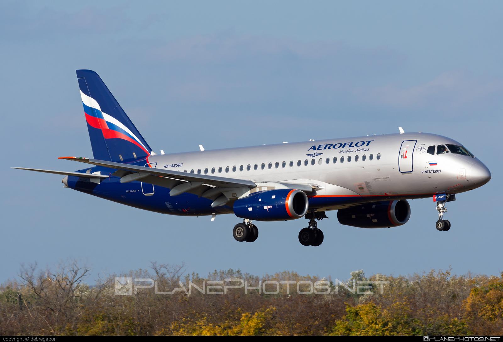 Sukhoi SSJ 100-95B Superjet - RA-89062 operated by Aeroflot #aeroflot #ssj100 #ssj10095b #sukhoi #sukhoisuperjet #superjet