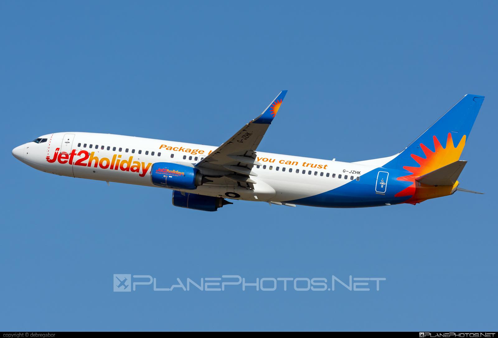 Boeing 737-800 - G-JZHK operated by Jet2 #b737 #b737nextgen #b737ng #boeing #boeing737 #jet2