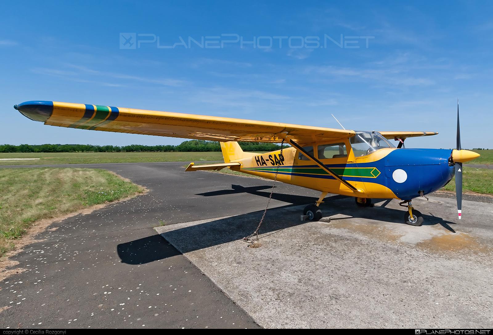 Cessna 175B Skylark - HA-SAP operated by Private operator #cessna