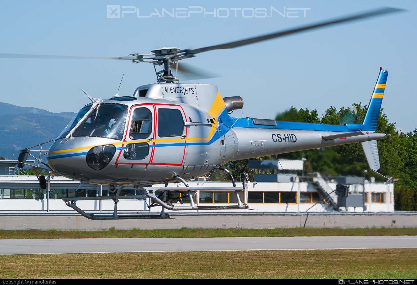 Eurocopter AS350 B3 Ecureuil - CS-HID operated by Everjets - Aviação Executiva, S.A. #eurocopter #everjets