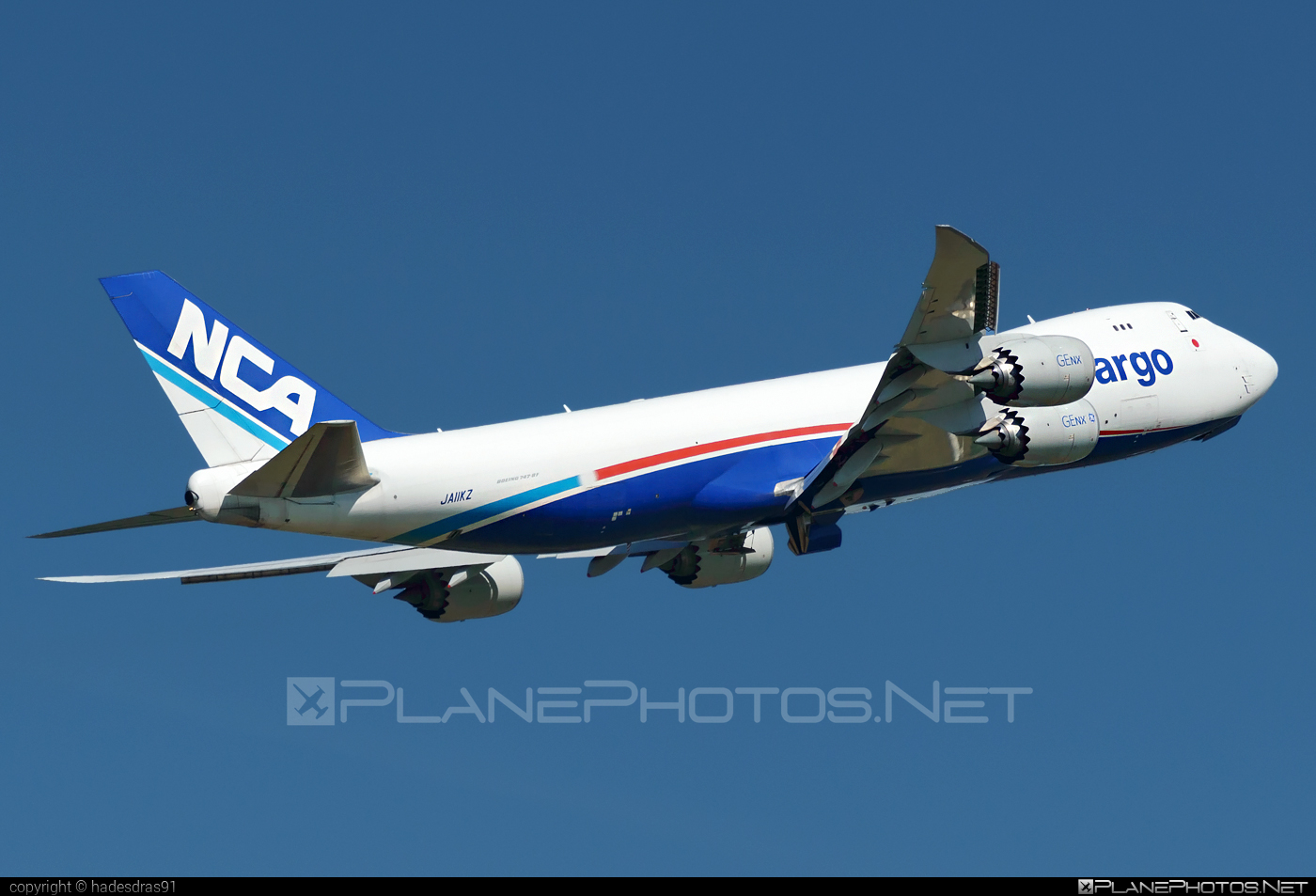 Boeing 747-8F - JA11KZ operated by Nippon Cargo Airlines (NCA) #b747 #b747f #b747freighter #boeing #boeing747 #jumbo