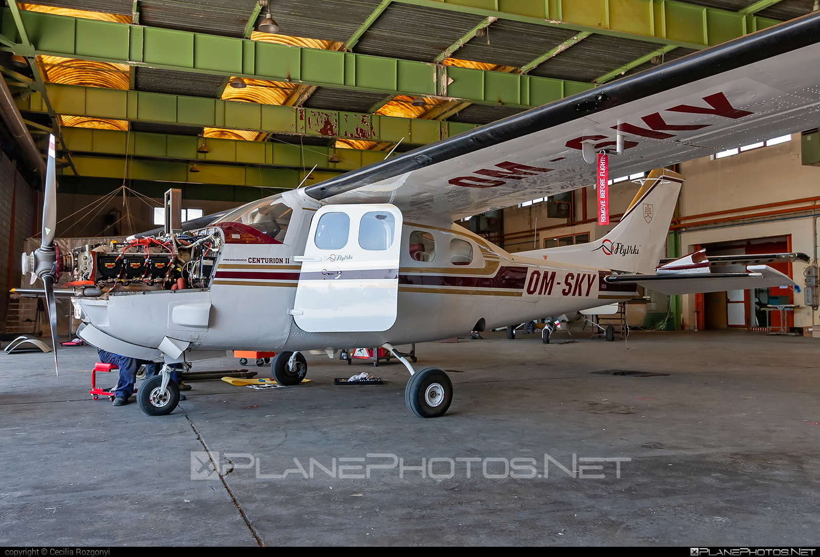 Cessna P210N Pressurised Centurion - OM-SKY operated by Private operator #cessna