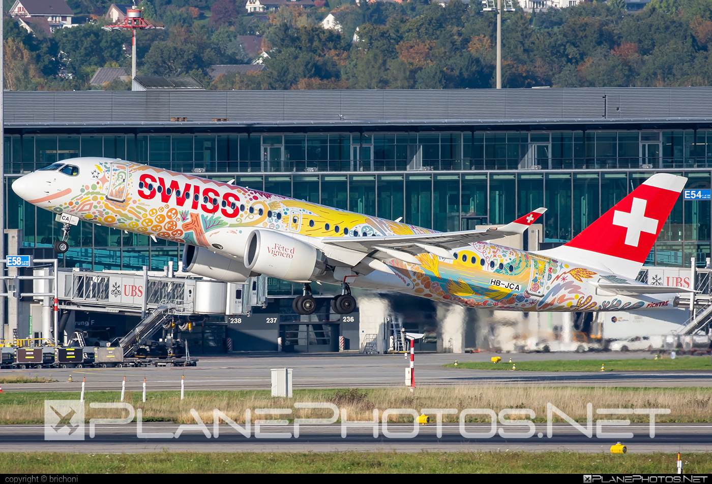 Bombardier BD-500-1A11 C Series CS300 - HB-JCA operated by Swiss International Air Lines #bombardier #cs300 #cseries #cseries300 #swiss #swissairlines