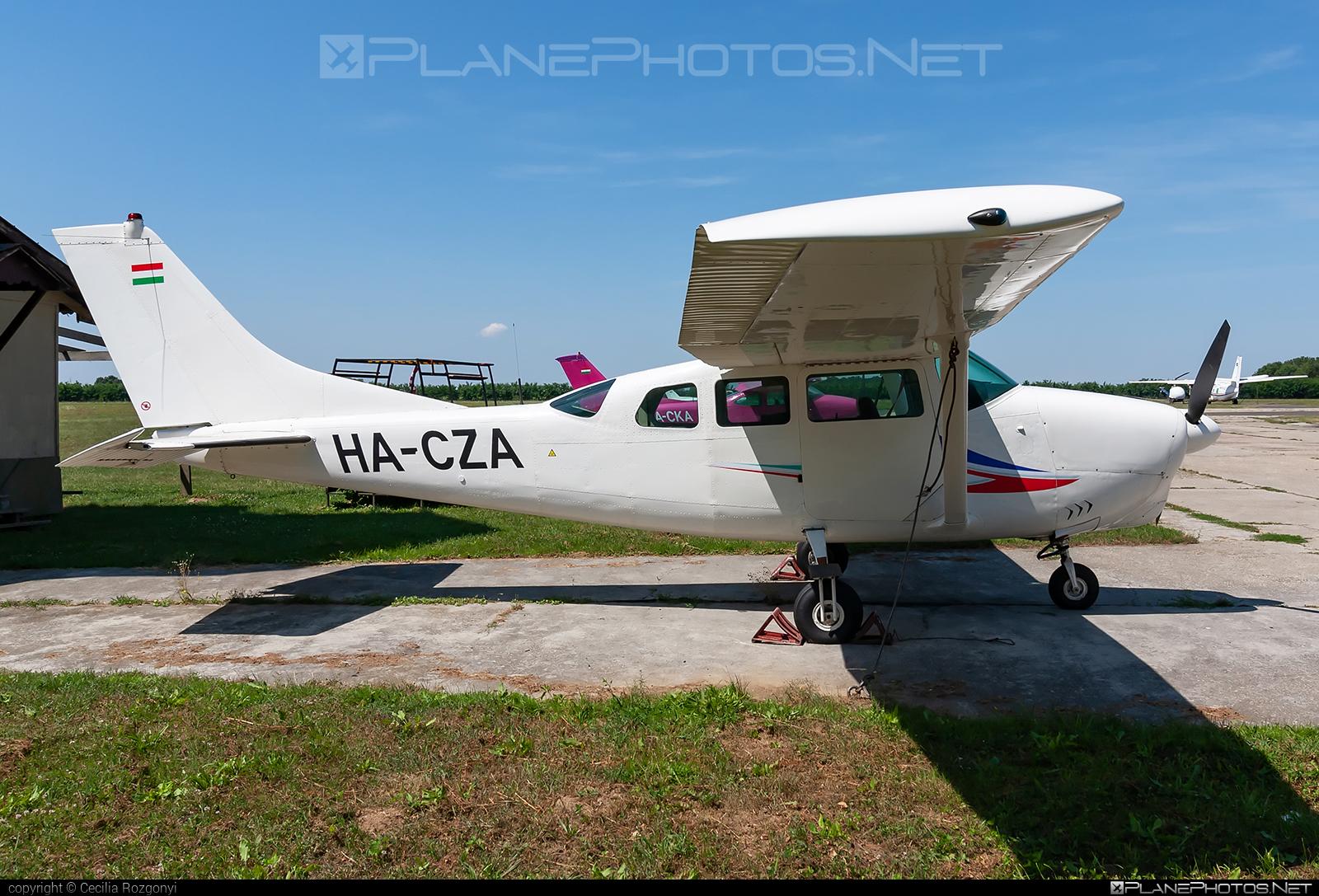 Cessna 205A - HA-CZA operated by Private operator #cessna