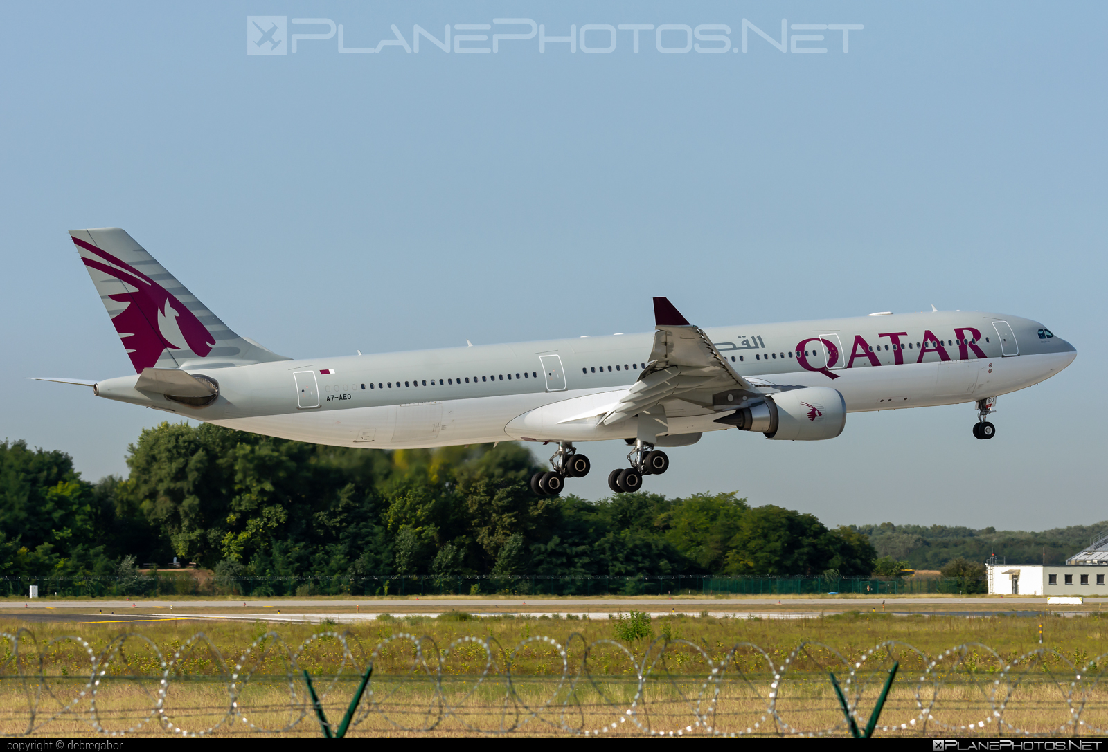 Airbus A330-302 - A7-AEO operated by Qatar Airways #a330 #a330family #airbus #airbus330 #qatarairways