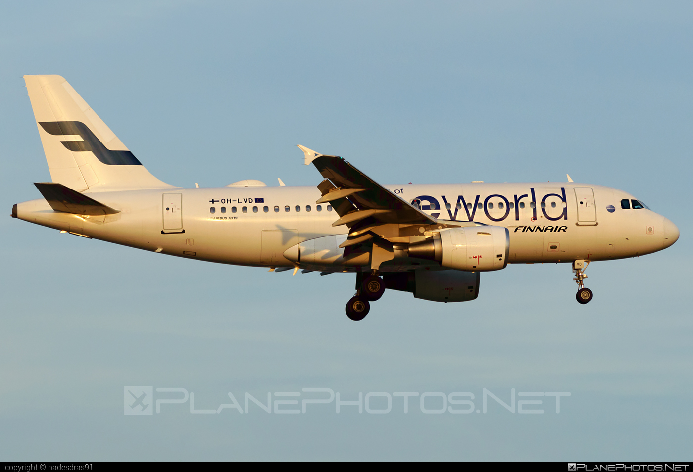 Airbus A319-112 - OH-LVD operated by Finnair #a319 #a320family #airbus #airbus319 #finnair #oneworld