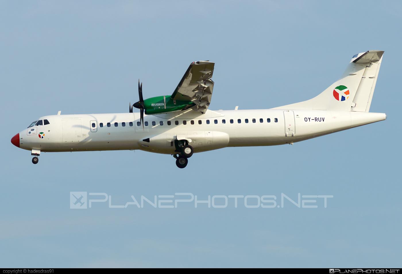 ATR 72-600 - OY-RUV operated by Danish Air Transport (DAT) #atr