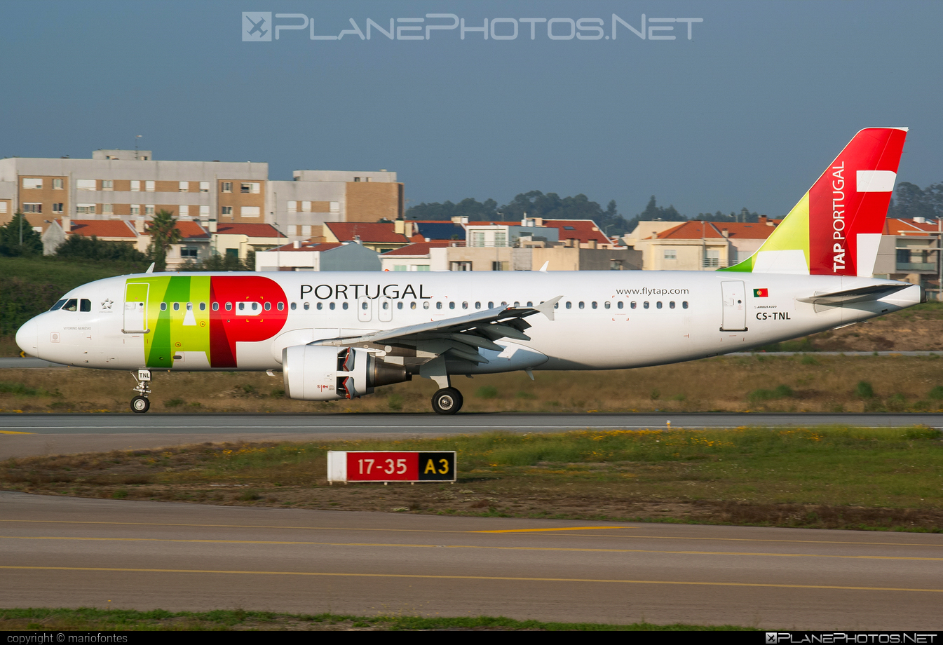 Airbus A320-214 - CS-TNL operated by TAP Portugal #a320 #a320family #airbus #airbus320