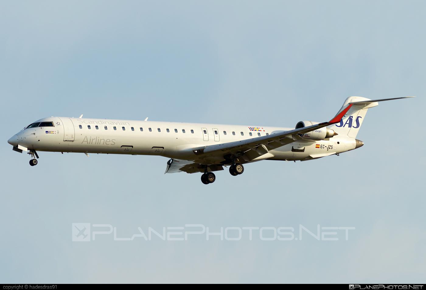 Bombardier CRJ900 - EC-JZS operated by Scandinavian Airlines (SAS) #bombardier #crj900 #sas #sasairlines #scandinavianairlines