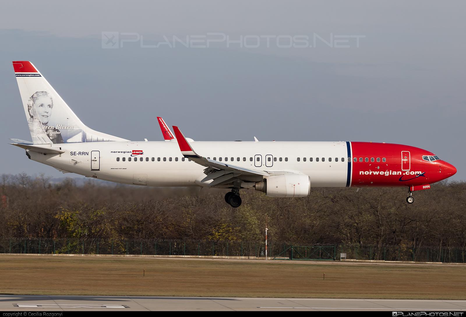 Boeing 737-800 - SE-RRN operated by Norwegian Air Sweden #b737 #b737nextgen #b737ng #boeing #boeing737 #norwegian #norwegianair #norwegianairsweden