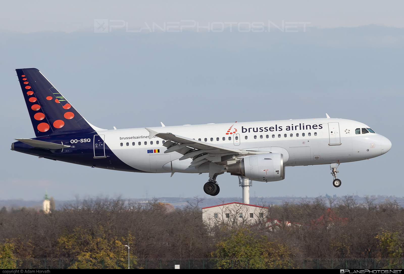 Airbus A319-111 - OO-SSQ operated by Brussels Airlines #a319 #a320family #airbus #airbus319 #brusselsairlines