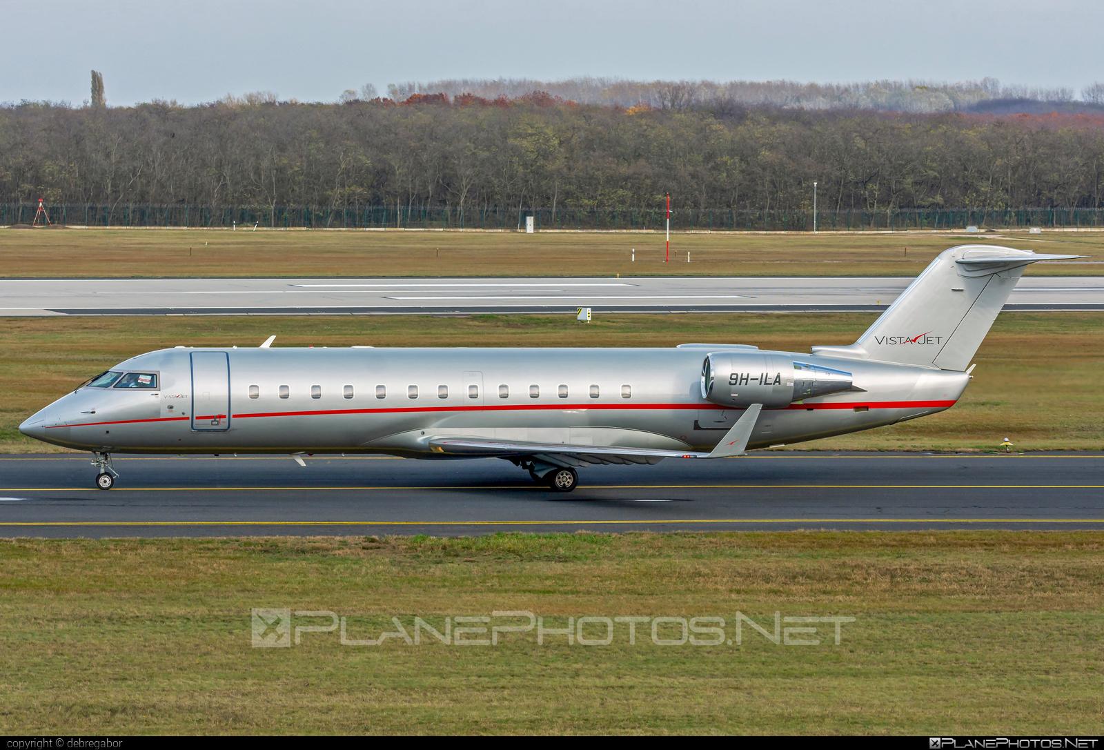 Bombardier CRJ200LR - 9H-ILA operated by VistaJet #bombardier #crj200 #crj200lr #vistajet