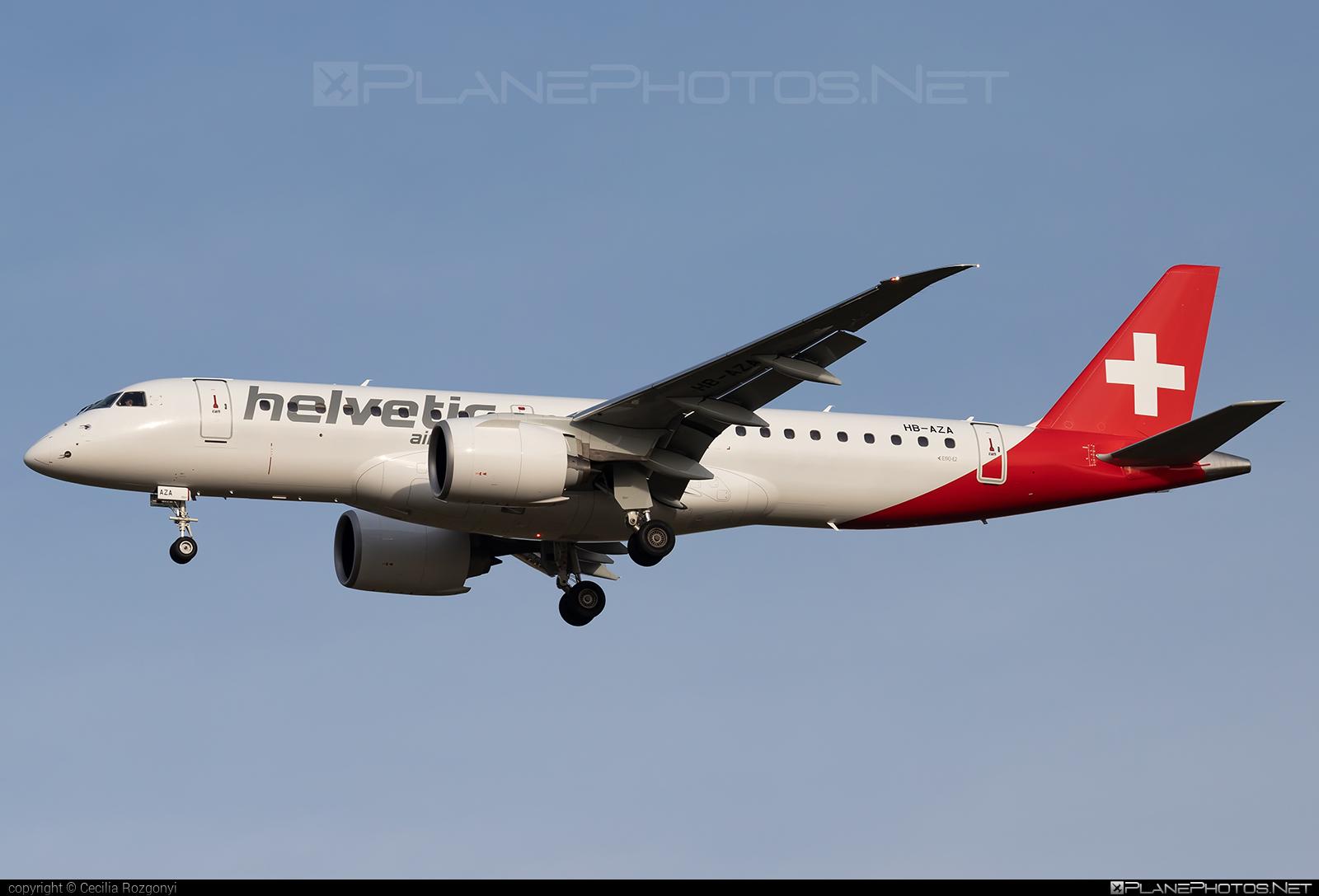 Embraer E190-E2 (ERJ-190-300STD) - HB-AZA operated by Helvetic Airways #e190 #e190e2 #embraer #embraer190 #embraer190300 #embraer190300std #embraer190e2 #erj190300 #erj190300std
