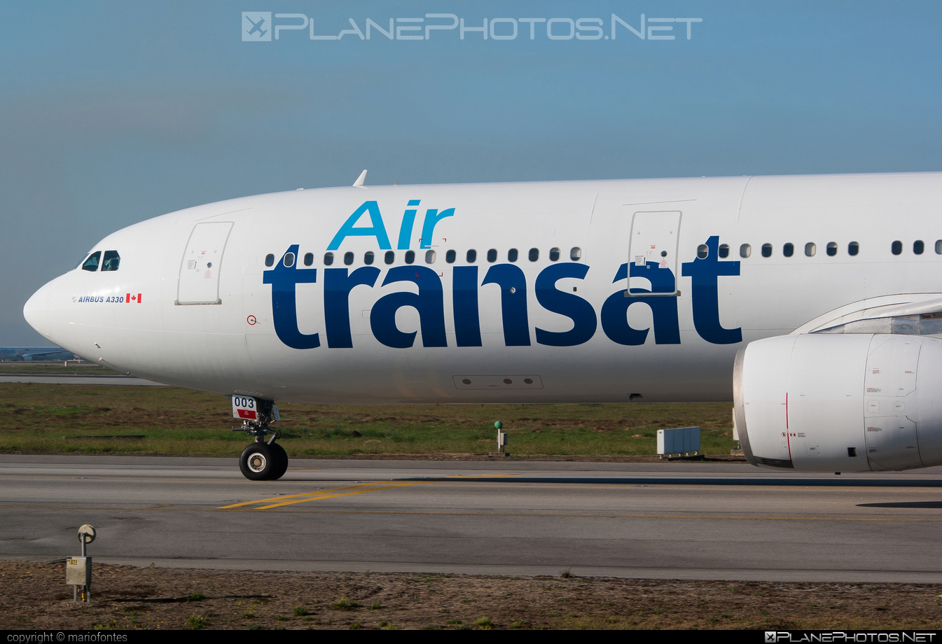 Airbus A330-342 - C-GTSO operated by Air Transat #a330 #a330family #airbus #airbus330