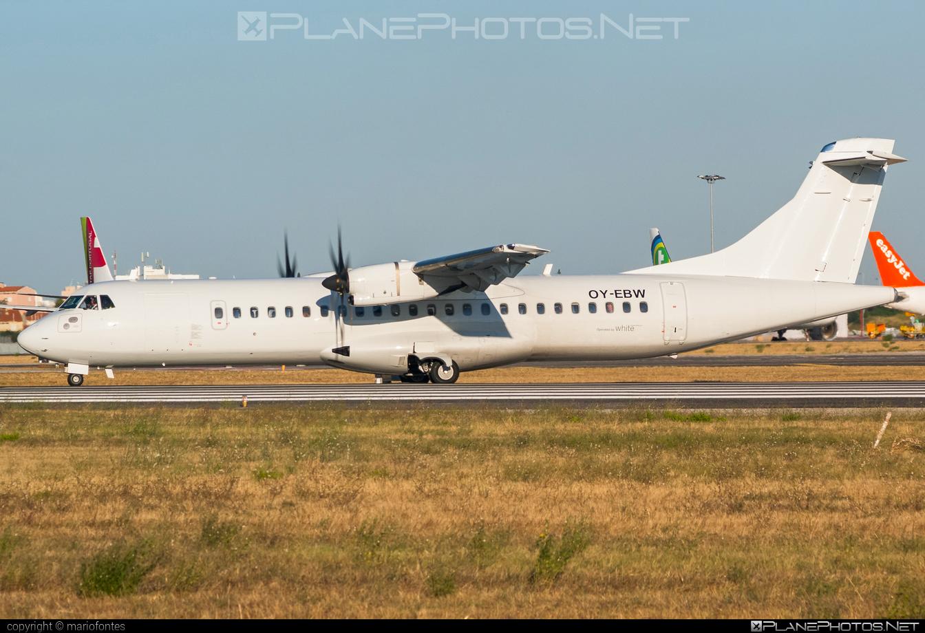 ATR 72-212A - OY-EBW operated by White Airways #atr