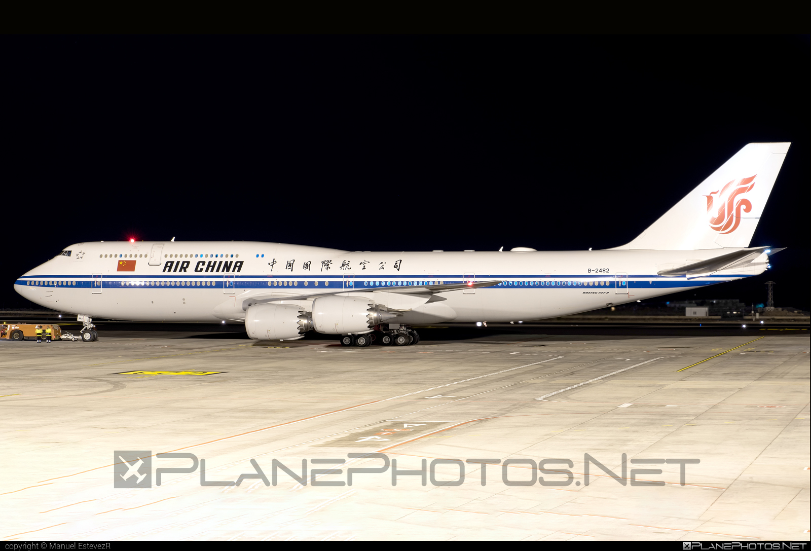 Boeing 747-8 - B-2482 operated by Air China #airchina #b747 #boeing #boeing747 #jumbo