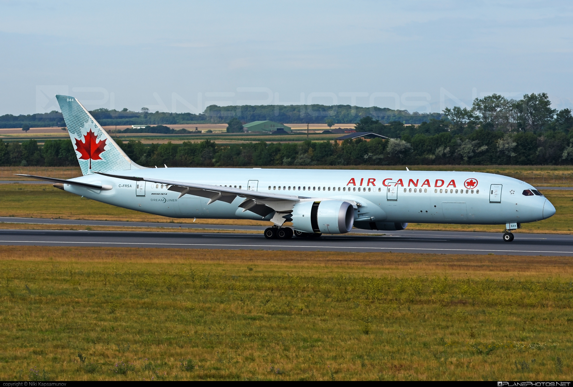 Boeing 787-9 Dreamliner - C-FRSA operated by Air Canada #aircanada #b787 #boeing #boeing787 #dreamliner