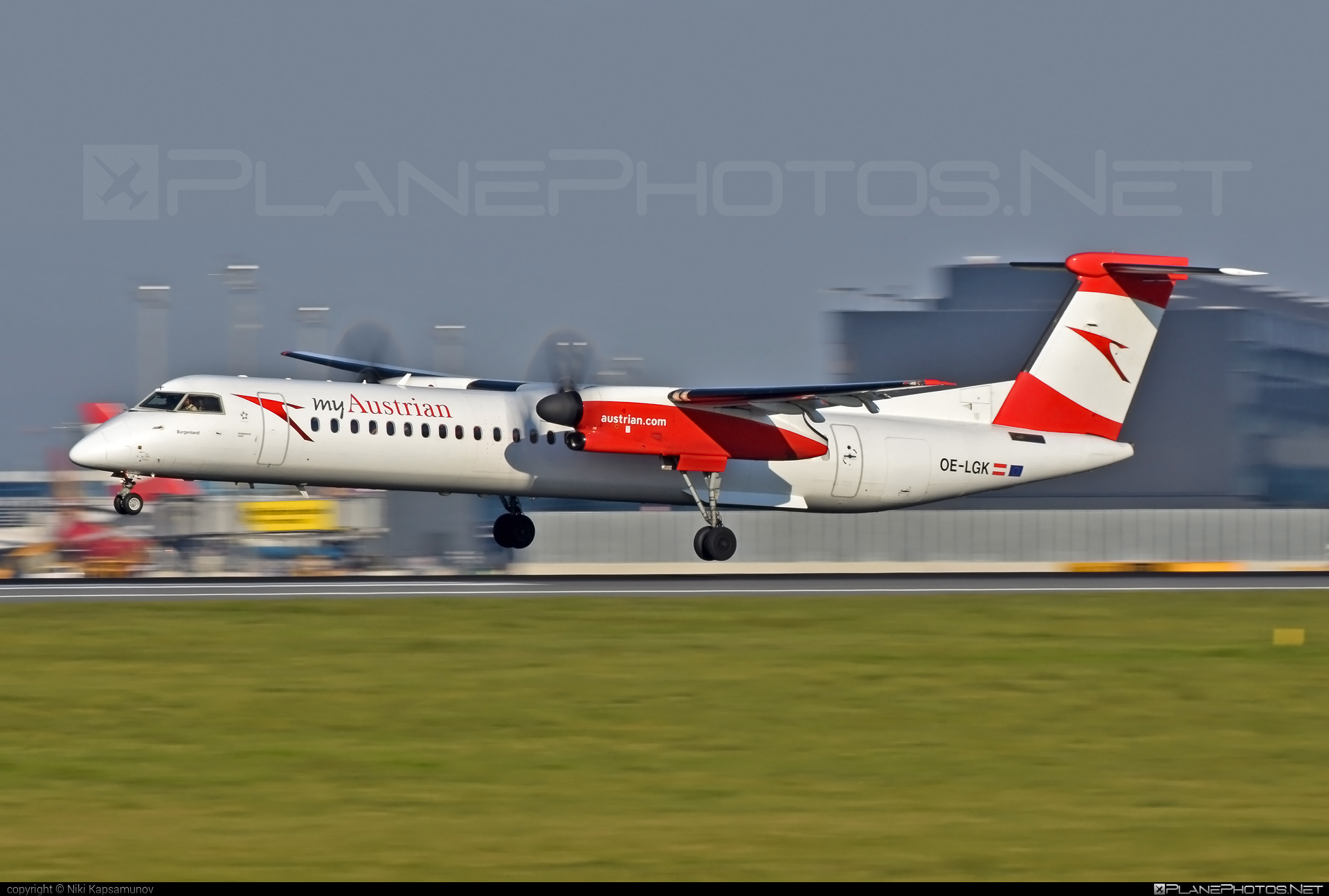 Bombardier DHC-8-Q402 Dash 8 - OE-LGK operated by Austrian arrows (Tyrolean Airways) #bombardier