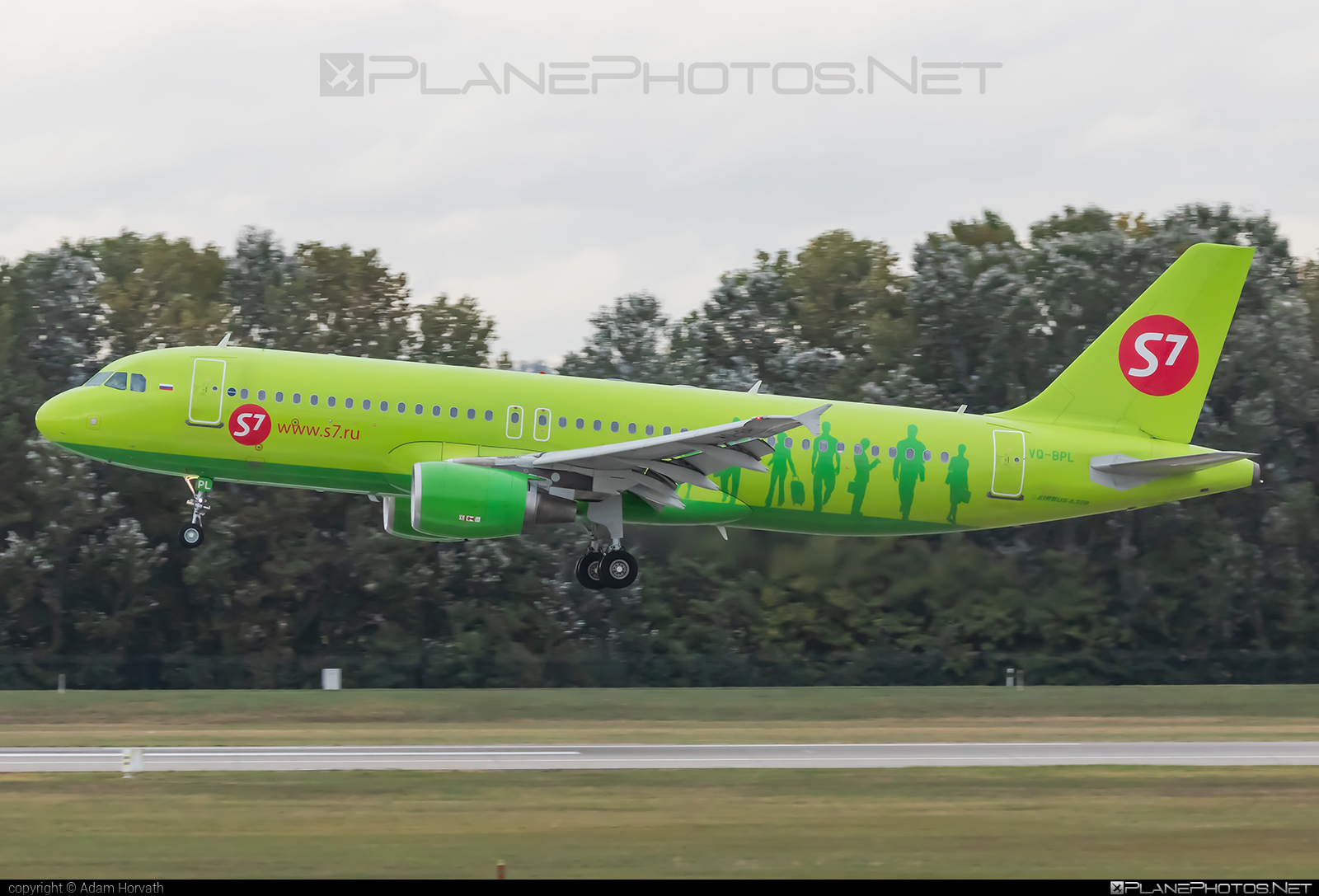 Airbus A320-214 - VQ-BPL operated by S7 Airlines #a320 #a320family #airbus #airbus320