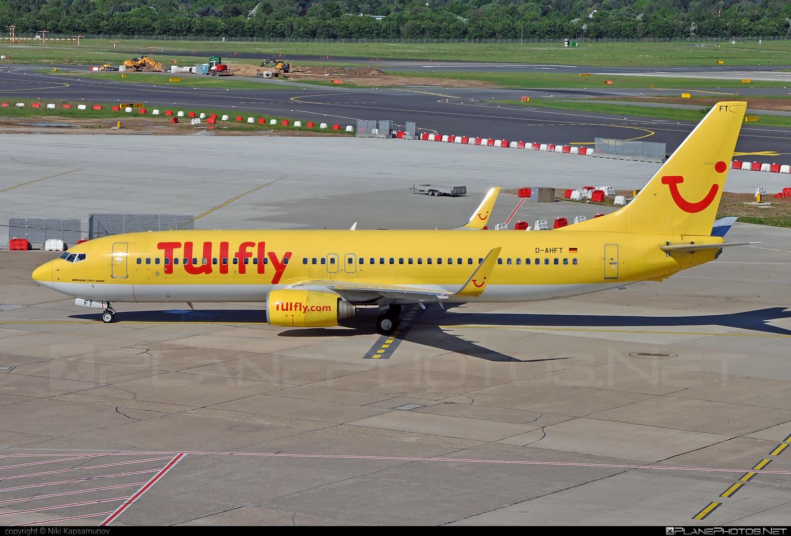 Boeing 737-800 - D-AHFT operated by TUIfly #b737 #b737nextgen #b737ng #boeing #boeing737 #tui #tuifly