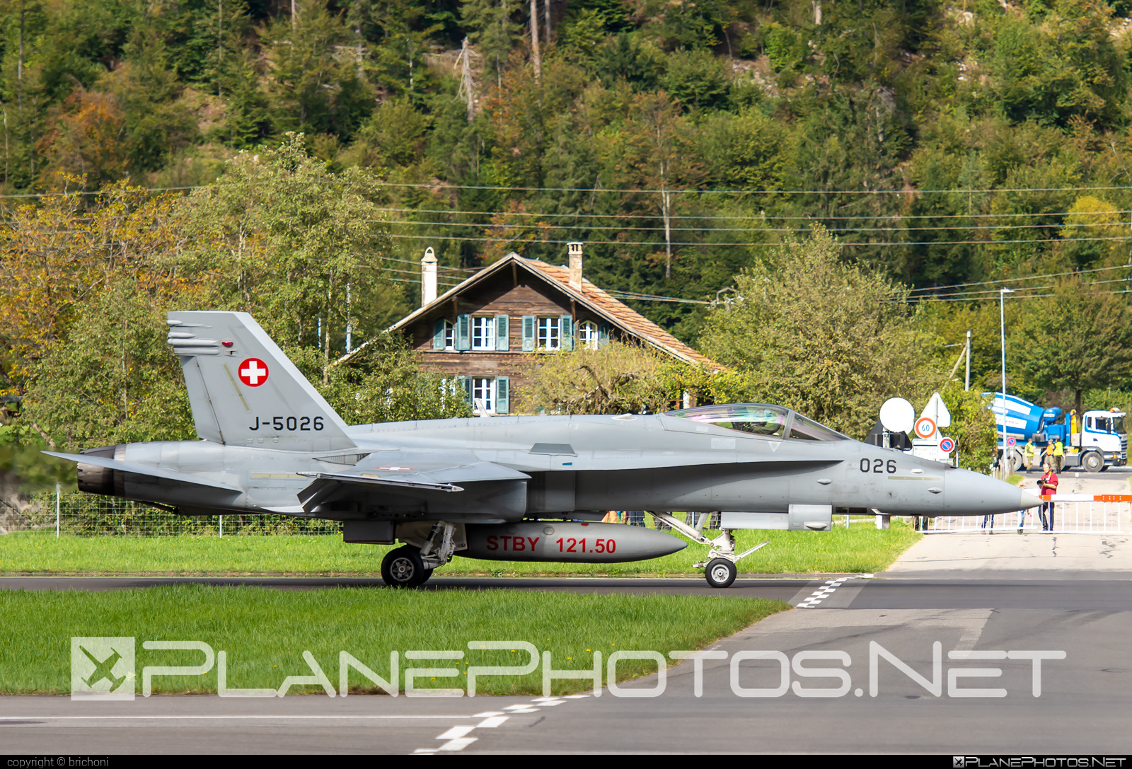 McDonnell Douglas F/A-18C Hornet - J-5026 operated by Schweizer Luftwaffe (Swiss Air Force) #f18 #f18hornet #fa18 #fa18c #fa18hornet #mcdonnelldouglas