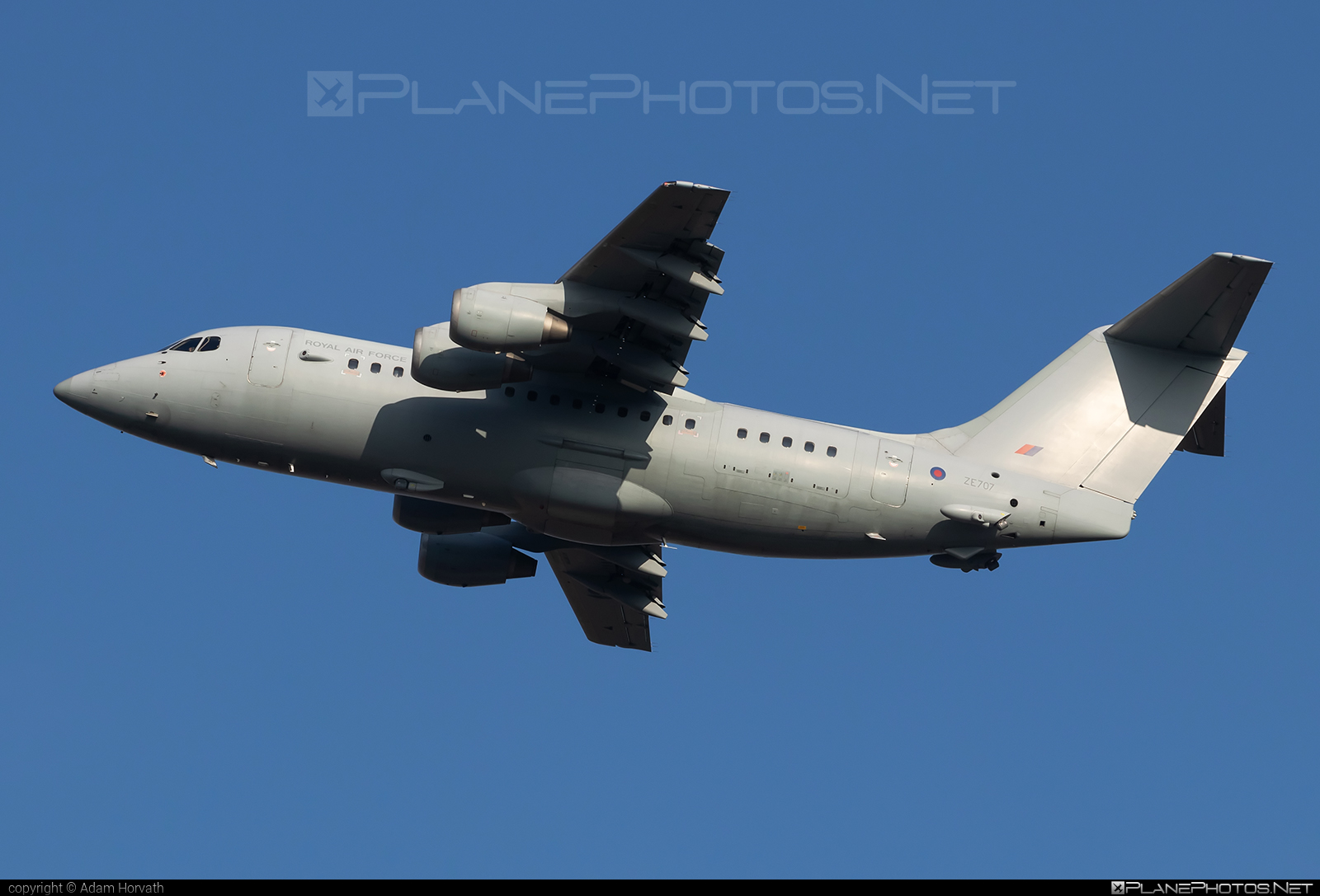 British Aerospace BAe 146-200 - ZE707 operated by Royal Air Force (RAF) #bae146 #bae146200 #britishaerospace #raf #royalairforce