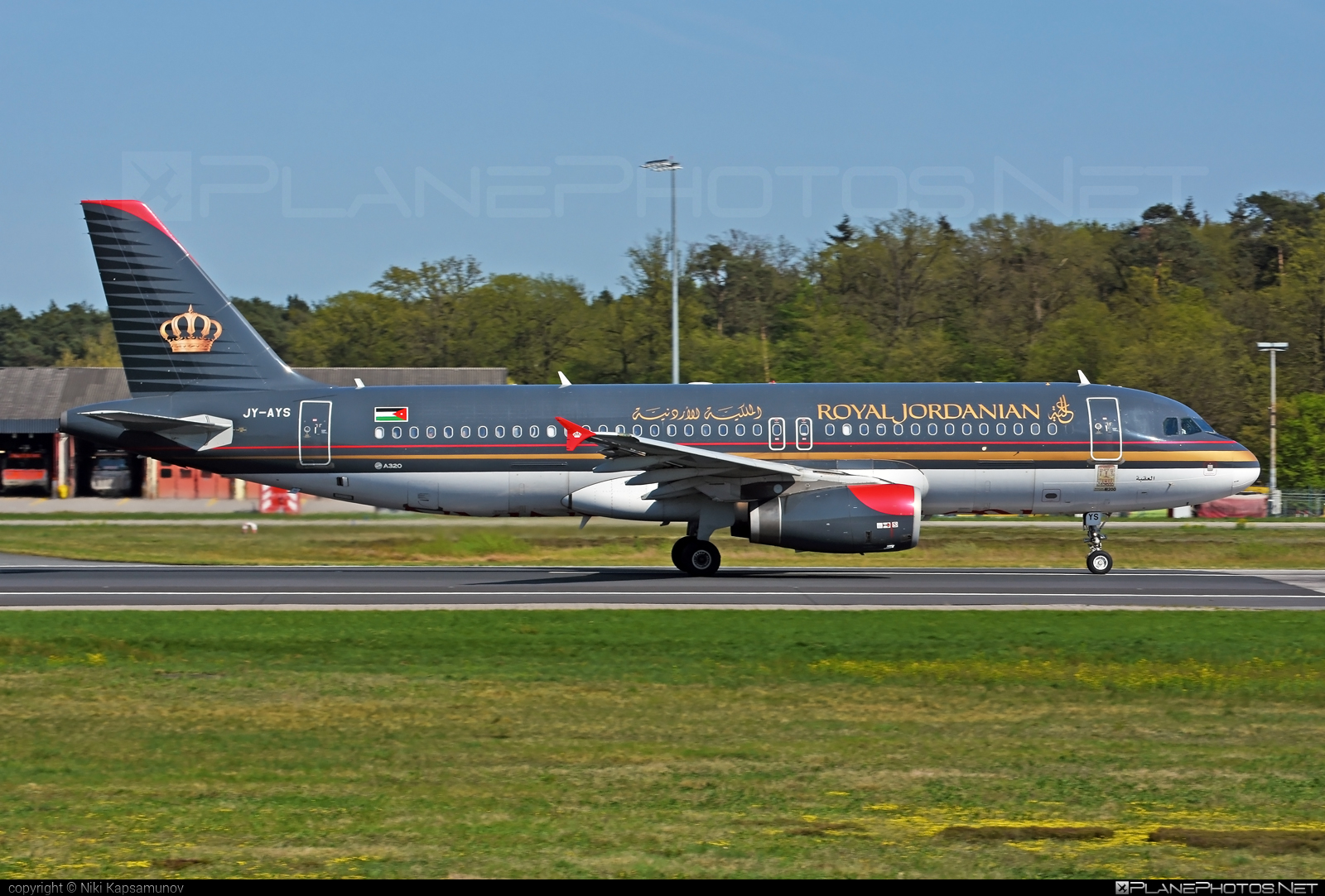 Airbus A320-232 - JY-AYS operated by Royal Jordanian #a320 #a320family #airbus #airbus320