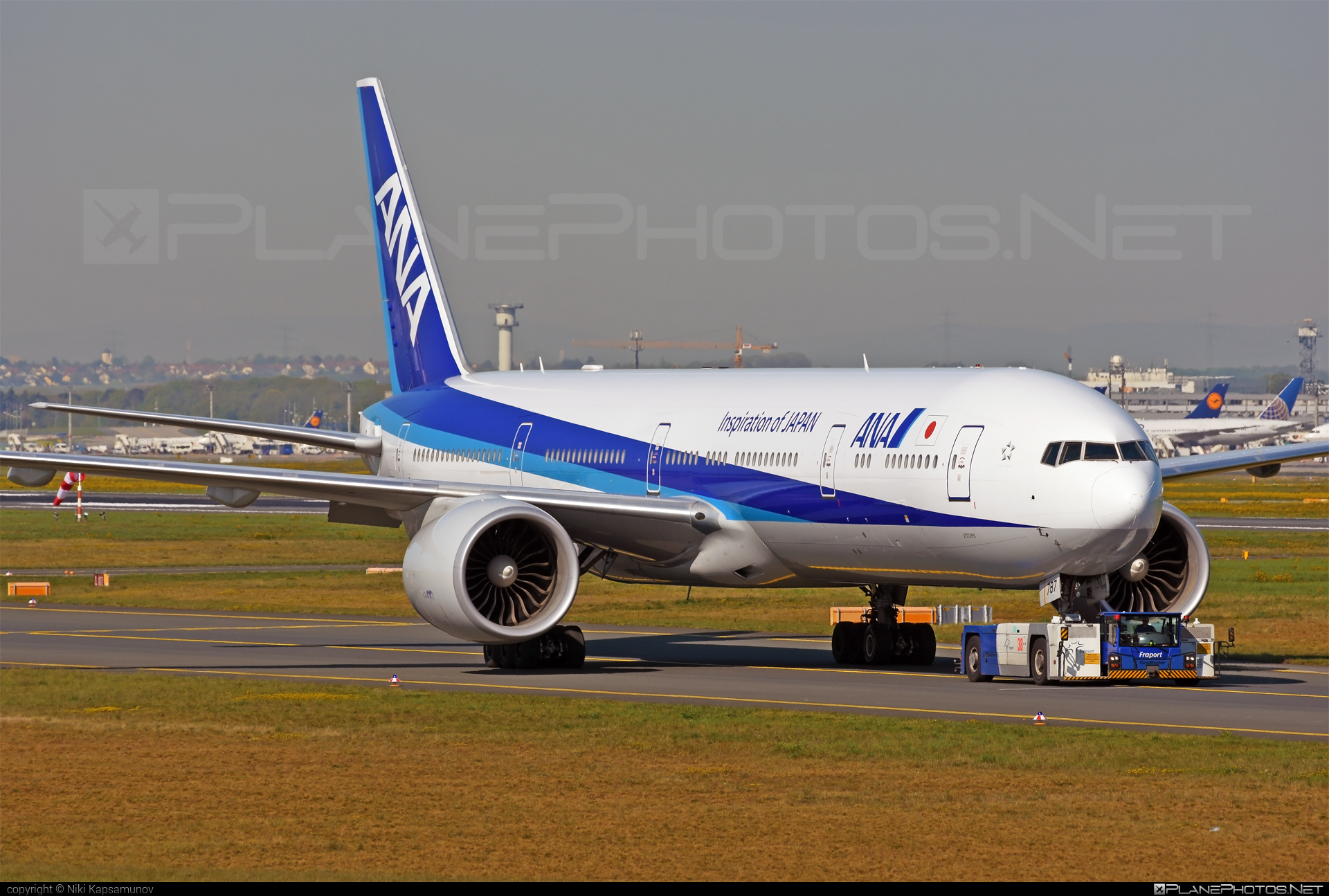 Boeing 777-300ER - JA787A operated by All Nippon Airways (ANA) #b777 #b777er #boeing #boeing777 #tripleseven