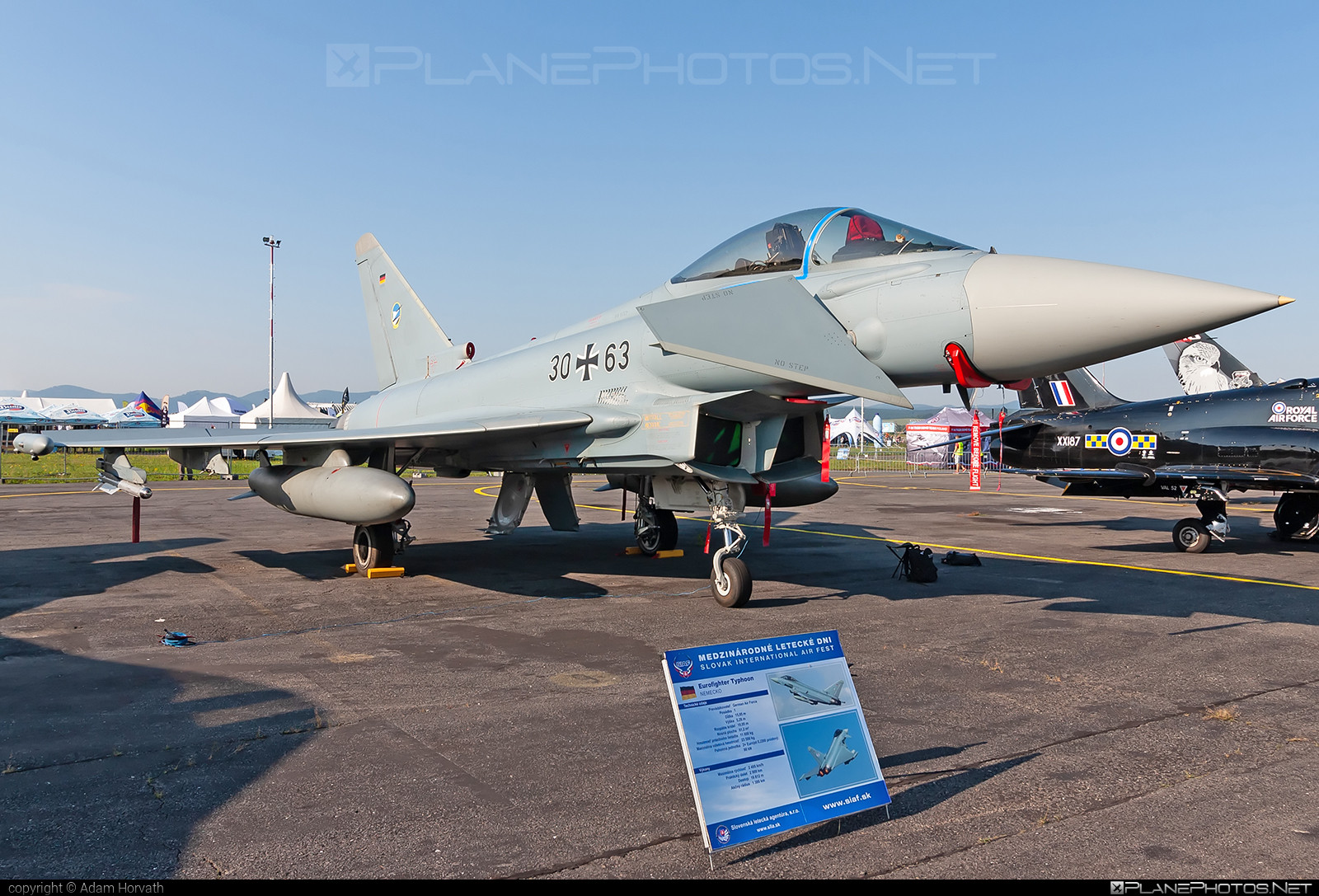 Eurofighter Typhoon S - 30+63 operated by Luftwaffe (German Air Force) #eurofighter #typhoon