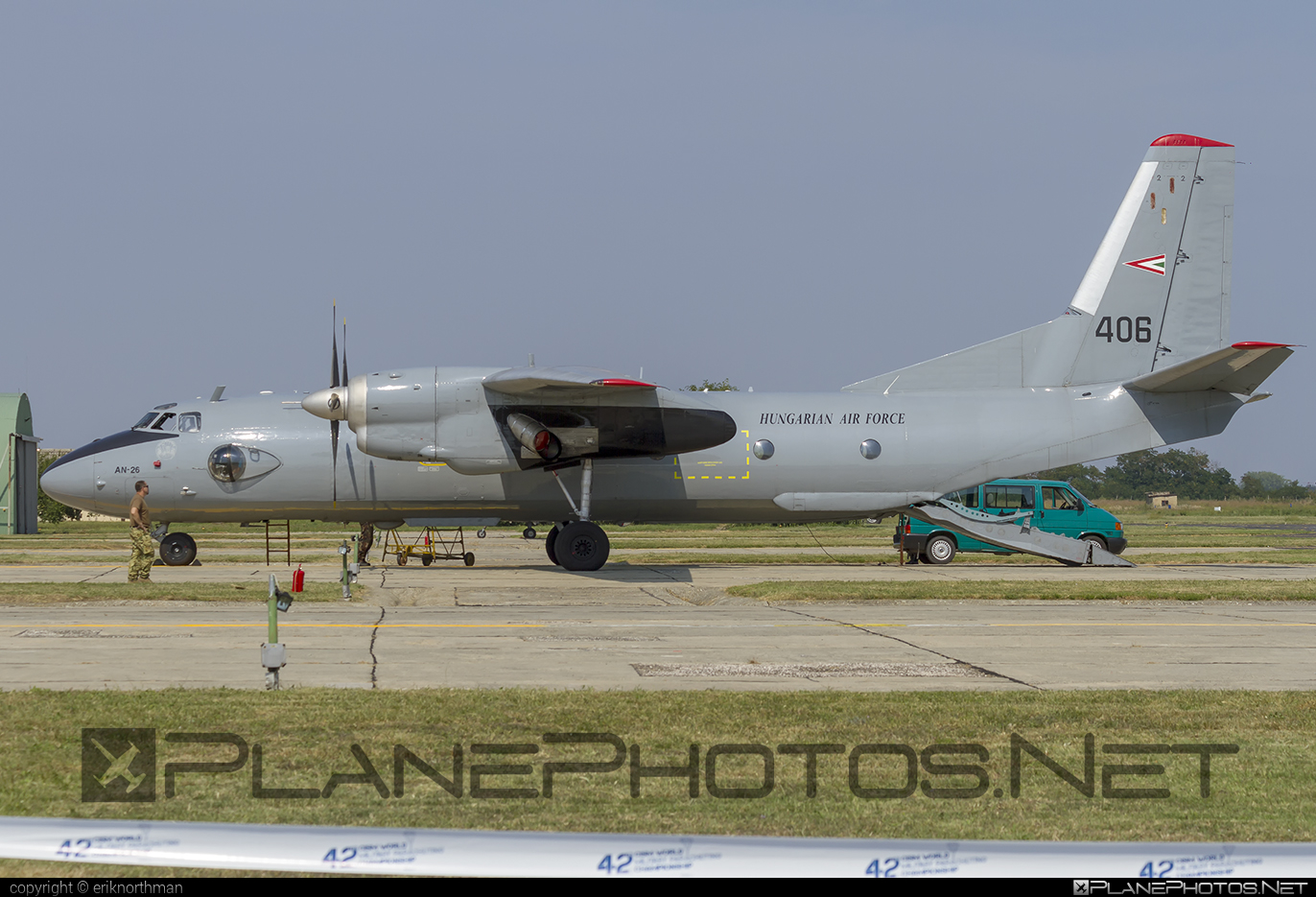 Antonov An-26 - 406 operated by Magyar Légierő (Hungarian Air Force) #an26 #antonov #antonov26 #hungarianairforce #magyarlegiero