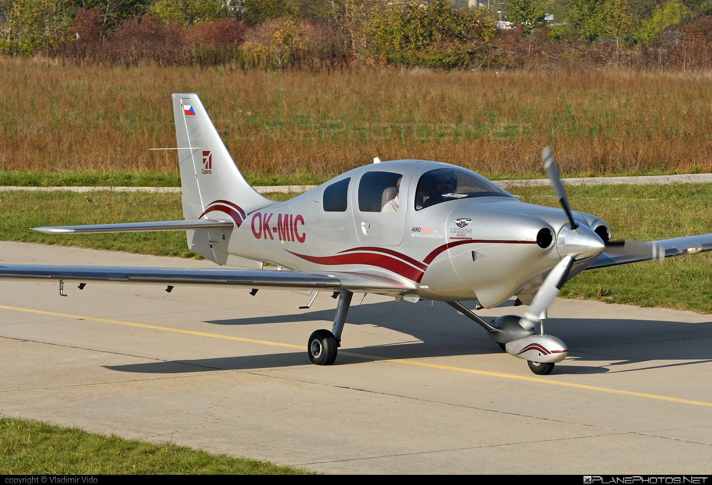 Cessna 400 Corvalis TT - OK-MIC operated by Private operator #cessna