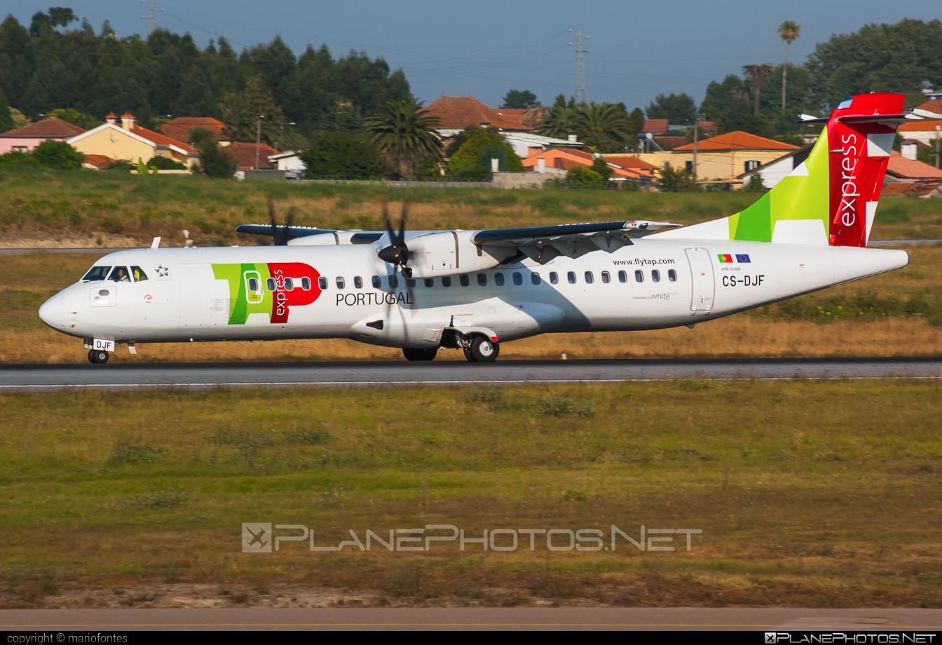 ATR 72-212A - CS-DJF operated by TAP Express #atr