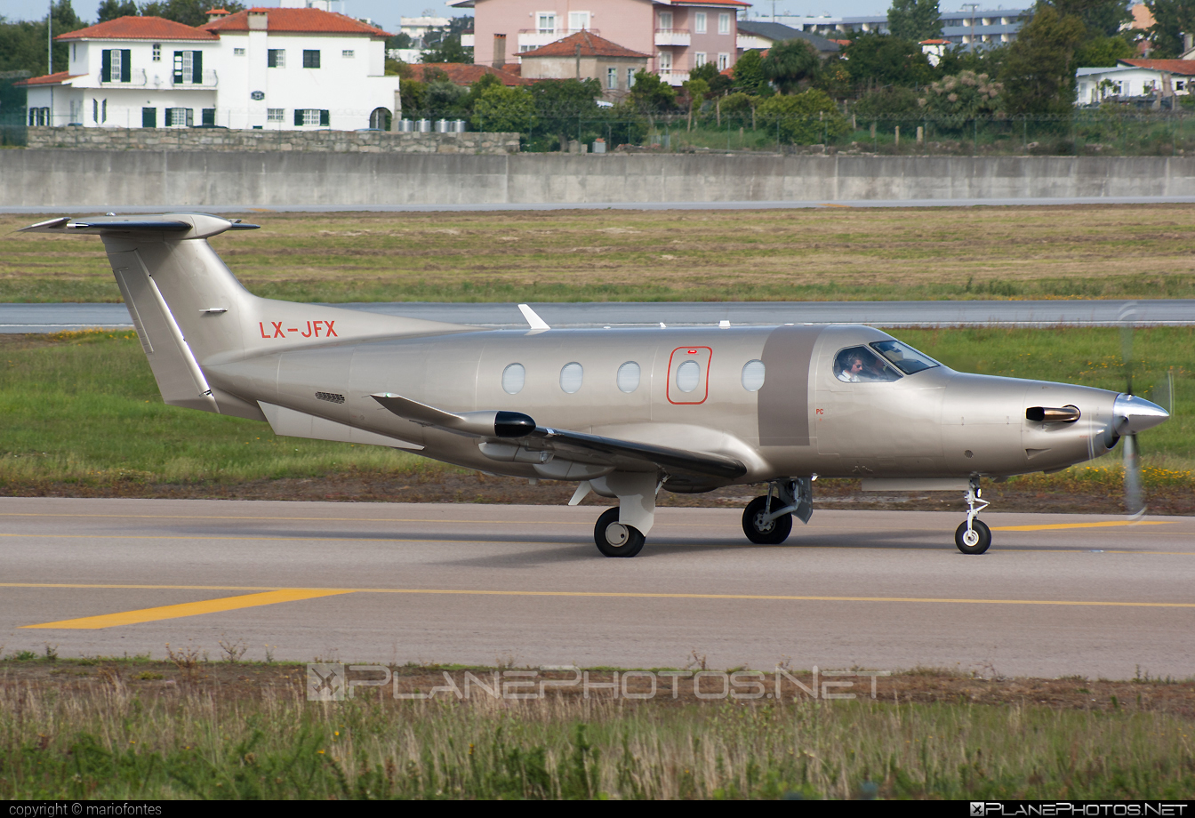 Pilatus PC-12/47E - LX-JFX operated by Jetfly Aviation #pilatus