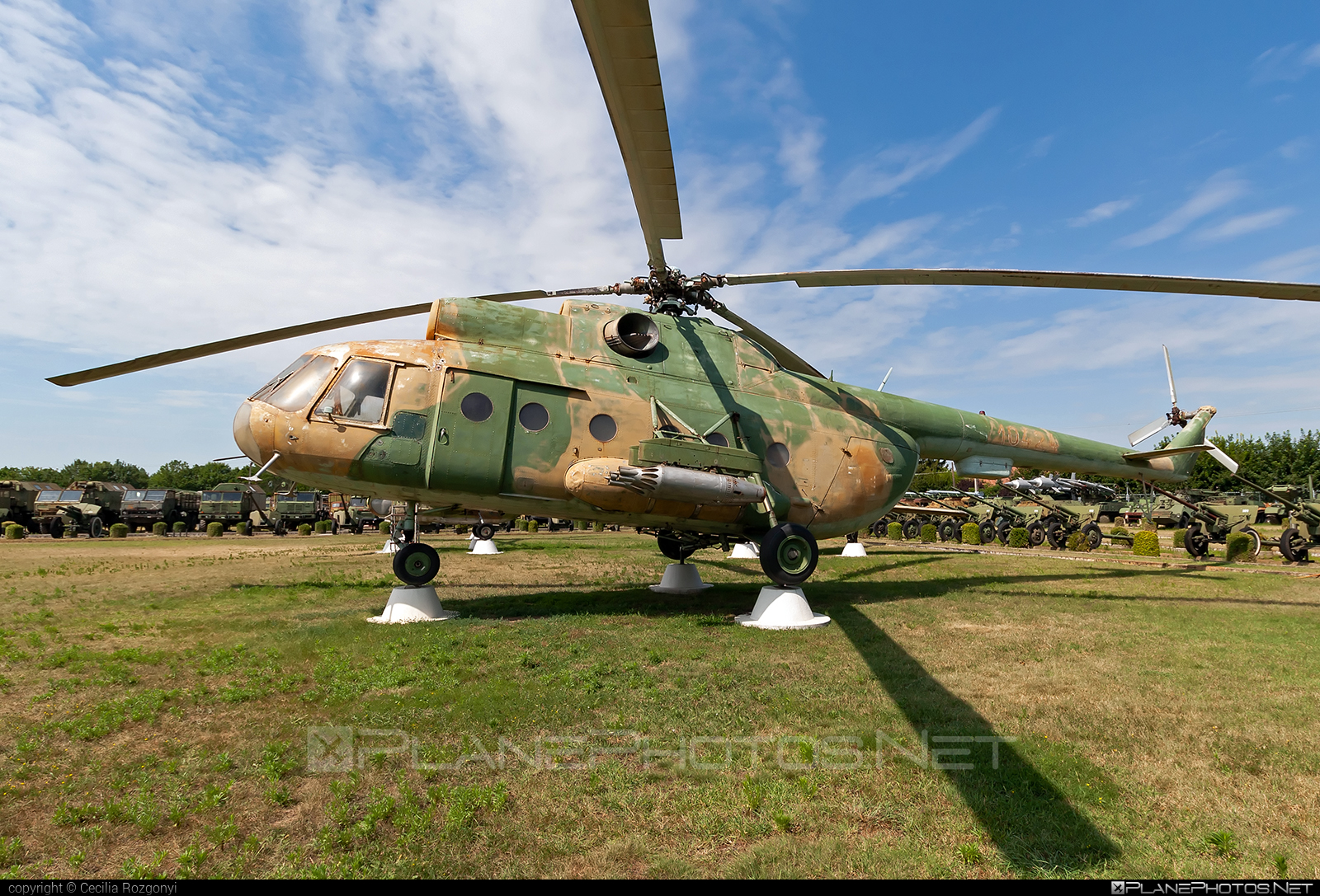 Mil Mi-8T - 10424 operated by Magyar Légierő (Hungarian Air Force) #hungarianairforce #magyarlegiero #mil #milhelicopters
