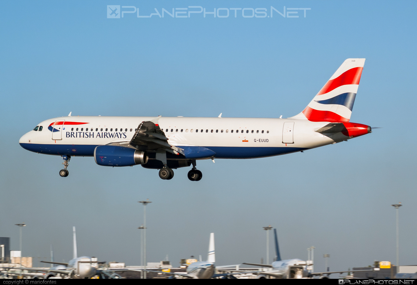 Airbus A320-232 - G-EUUD operated by British Airways #a320 #a320family #airbus #airbus320 #britishairways