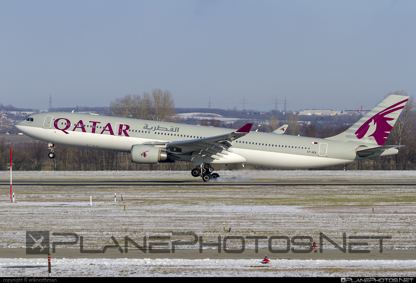 Airbus A330-303 - A7-AEA operated by Qatar Airways #a330 #a330family #airbus #airbus330 #qatarairways