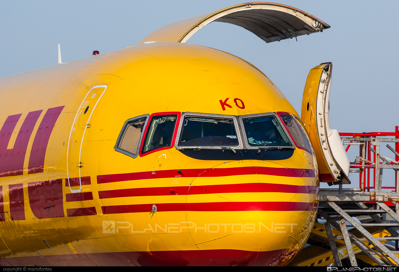 Boeing 757-200SF - G-BIKO operated by DHL Air #b757 #boeing #boeing757