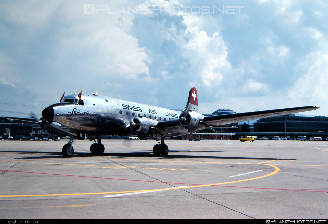 Douglas DC-4-1009 - ZU-ILI operated by Swissair #dc4 #dc41009 #douglas #douglasdc4 #swissair