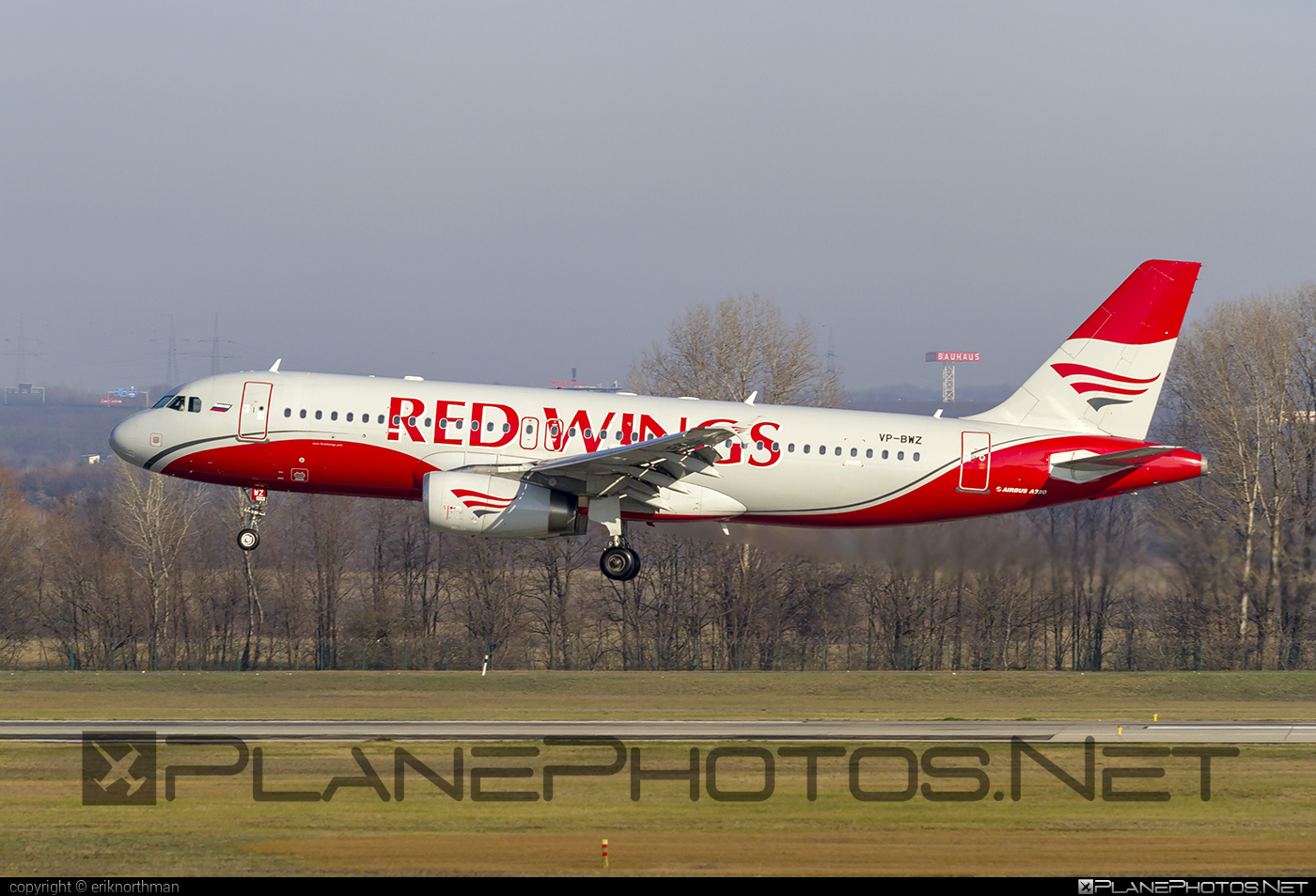 Airbus A320-233 - VP-BWZ operated by Red Wings #a320 #a320family #airbus #airbus320