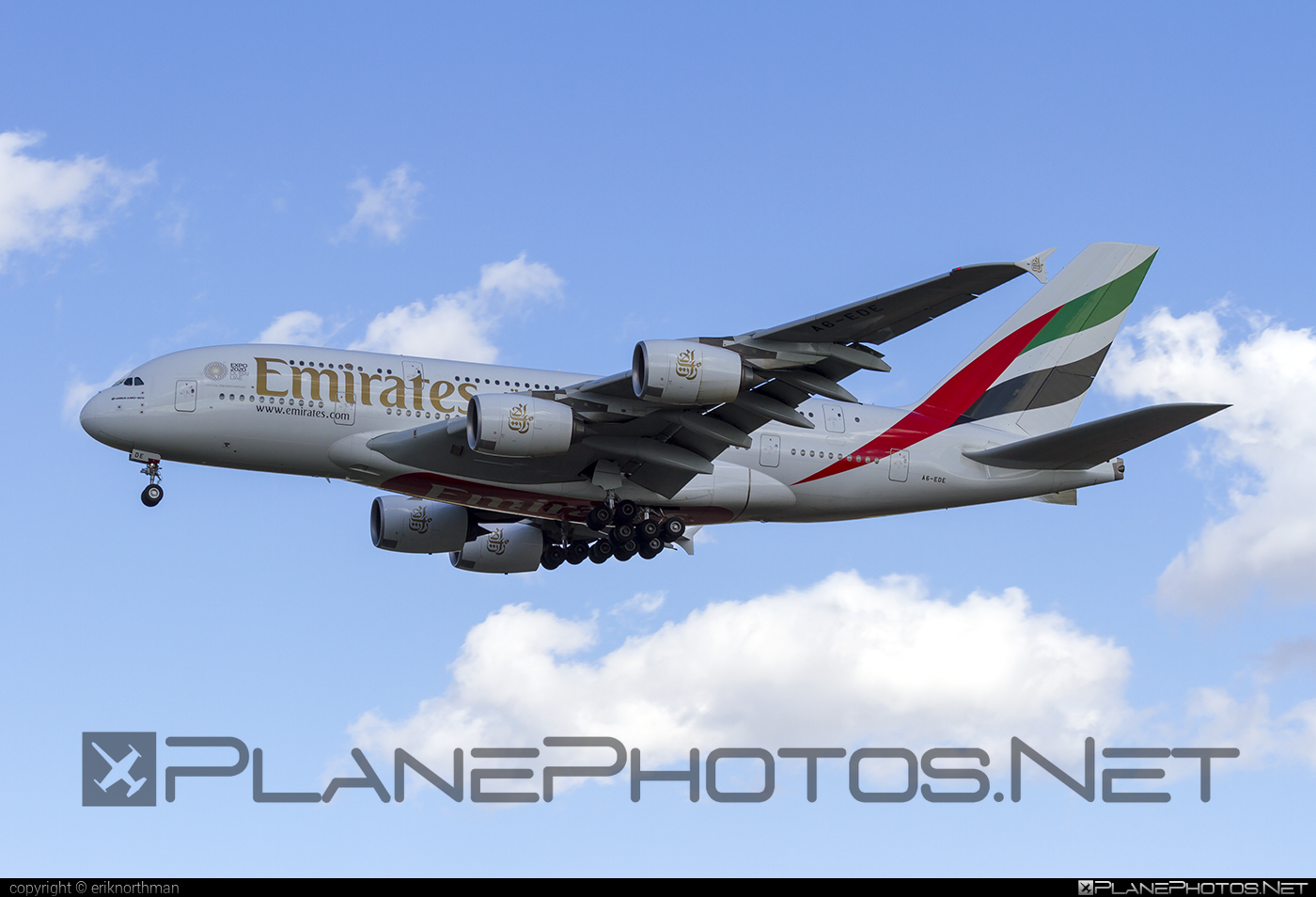 Airbus A380-861 - A6-EDE operated by Emirates #a380 #a380family #airbus #airbus380 #emirates