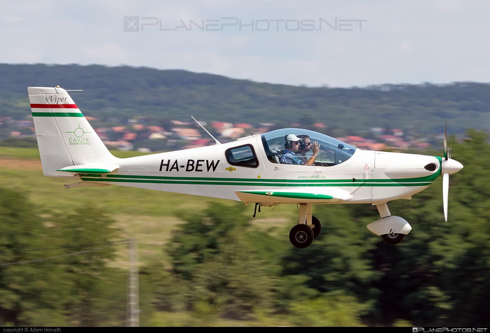 Tomark SD-4 Viper - HA-BEW operated by CAVOK Aviation Training #cavokaviationtraining #sd4viper #tomark