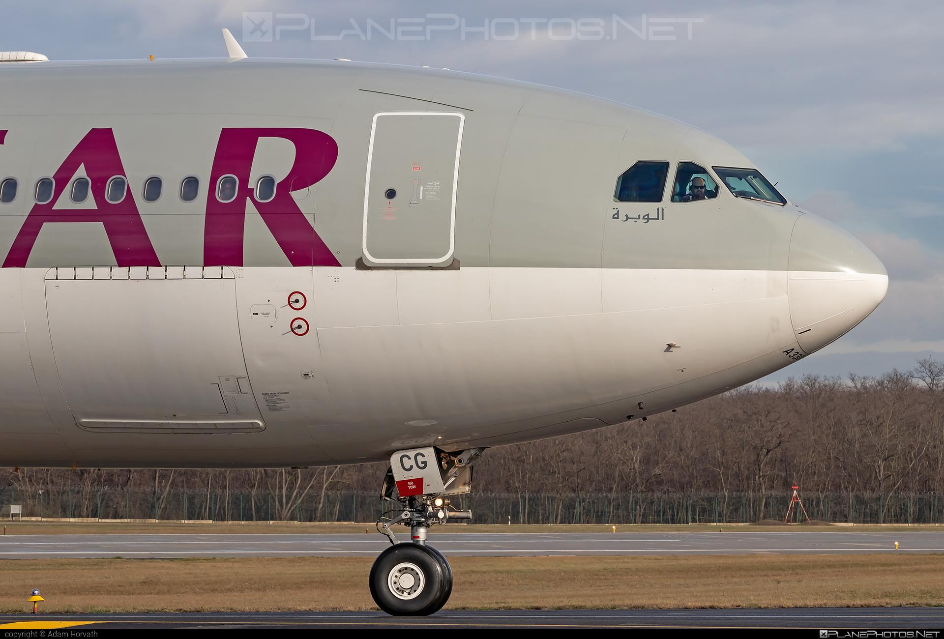Airbus A330-202 - A7-ACG operated by Qatar Airways #a330 #a330family #airbus #airbus330 #qatarairways