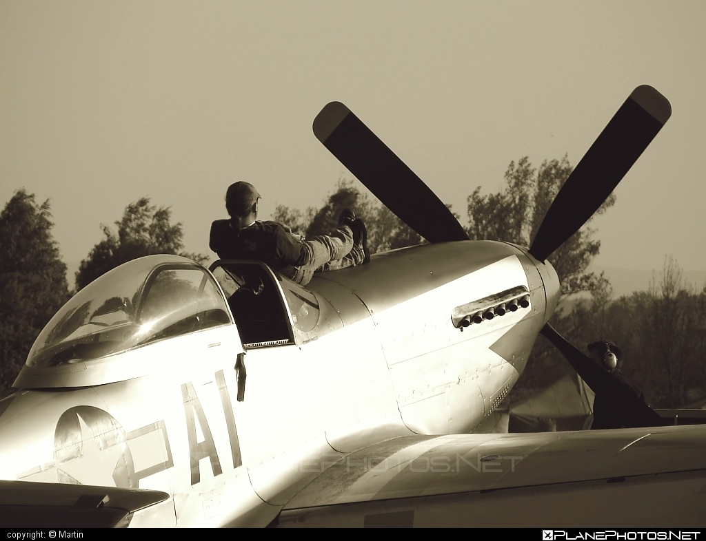 Private operator North American P-51D Mustang - F-AZSB #northamerican