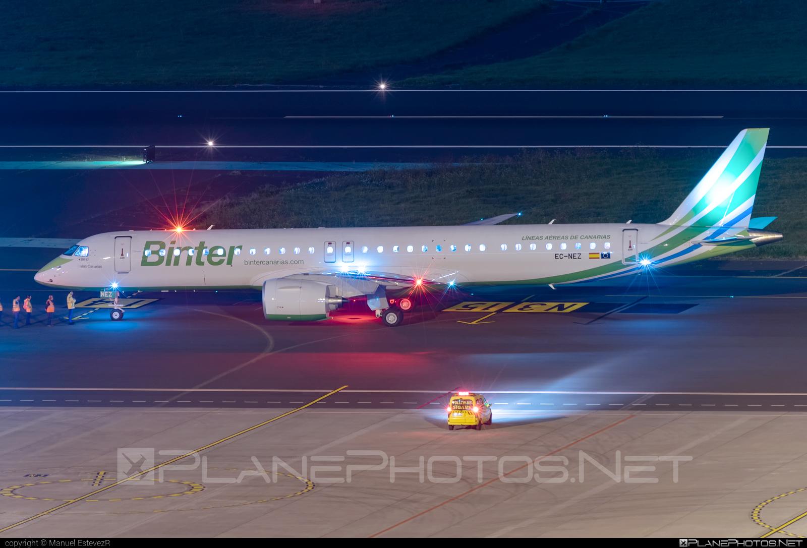 Embraer E195-E2 (ERJ-190-400STD) - EC-NEZ operated by Binter Canarias #e195 #e195e2 #embraer #embraer190400 #embraer190400std #embraer195 #embraer195e2 #erj190400 #erj190400std