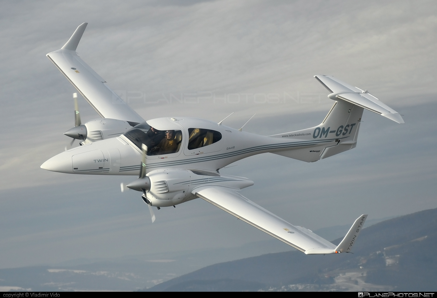 Diamond DA42 TDi Twin Star - OM-GST operated by SEAGLE SK.ATO.02 #diamond
