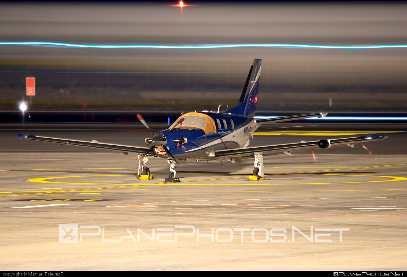 Socata TBM700B - N700EL operated by Private operator #socata