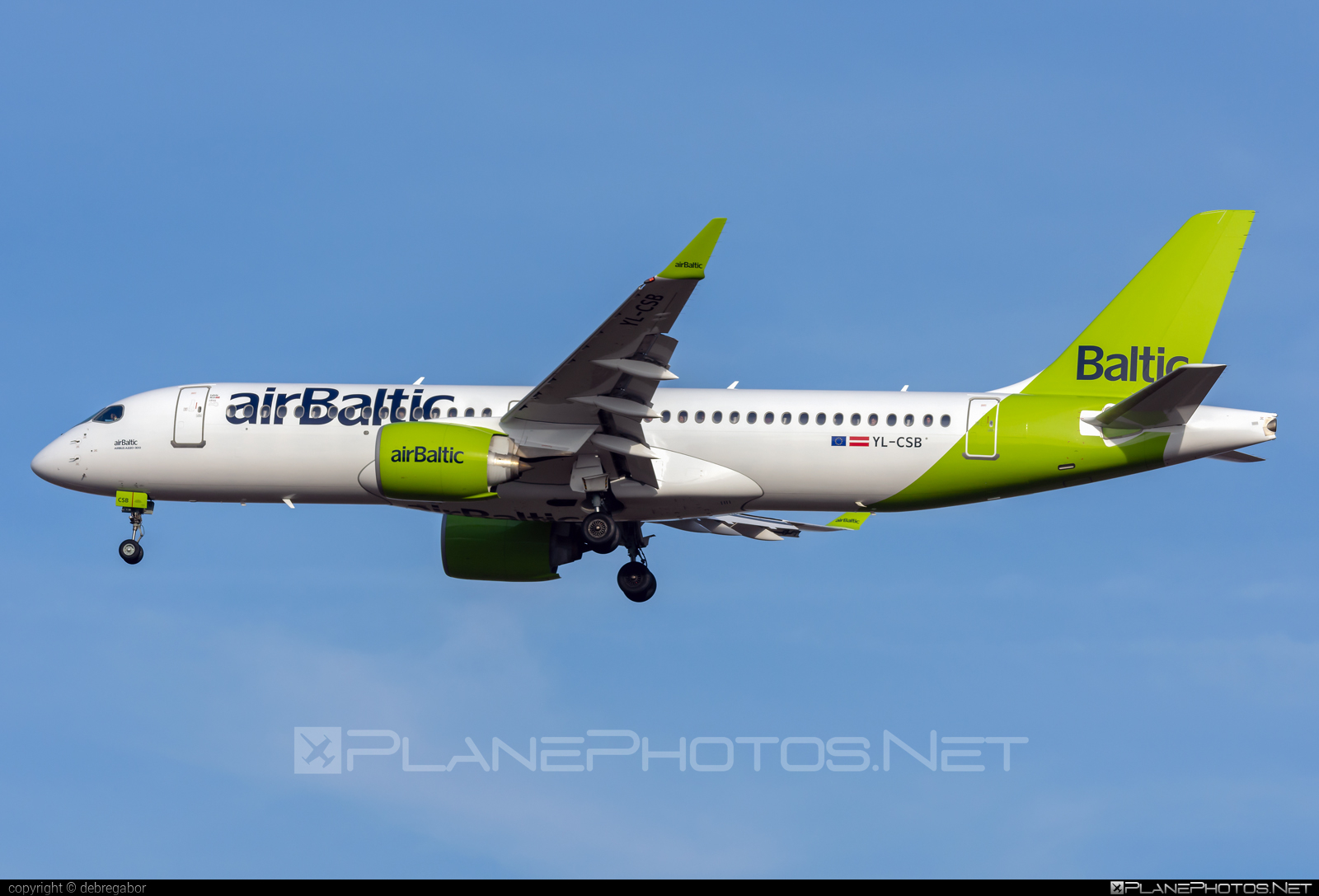 Bombardier BD-500-1A11 C Series CS300 - YL-CSB operated by Air Baltic #airbaltic #bombardier #cs300 #cseries #cseries300