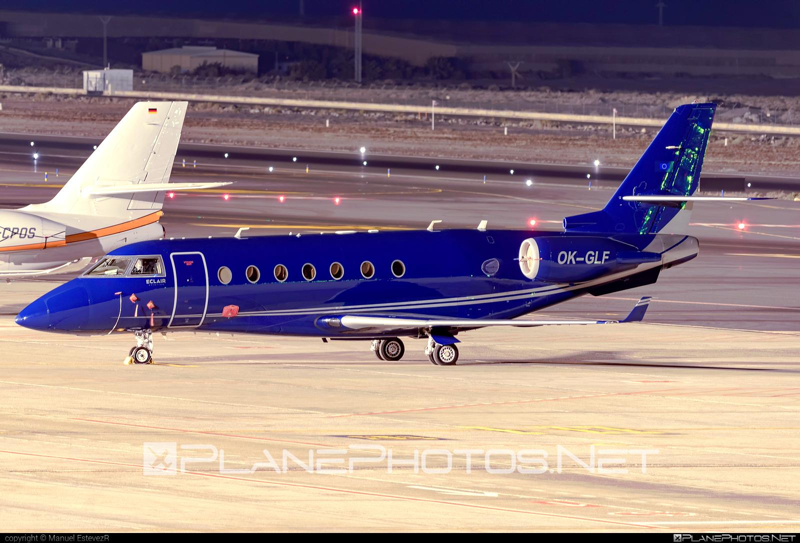 Gulfstream G200 - OK-GLF operated by Eclair Aviation #eclairaviation #gulfstream
