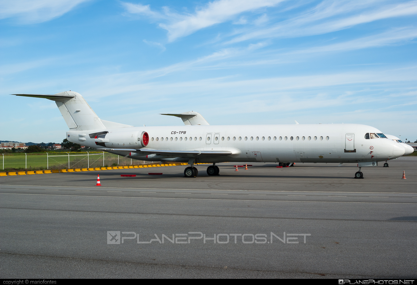 Fokker 100 - CS-TPB operated by Portugália Airlines #fokker #portugaliaairlines